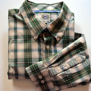 Cinch Plaid Button Down Shirt - XXL